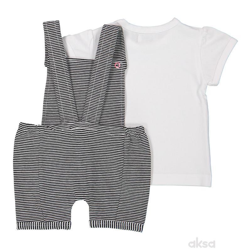 Dirkje komplet (šorts na treg,majica kr),devojčice 62