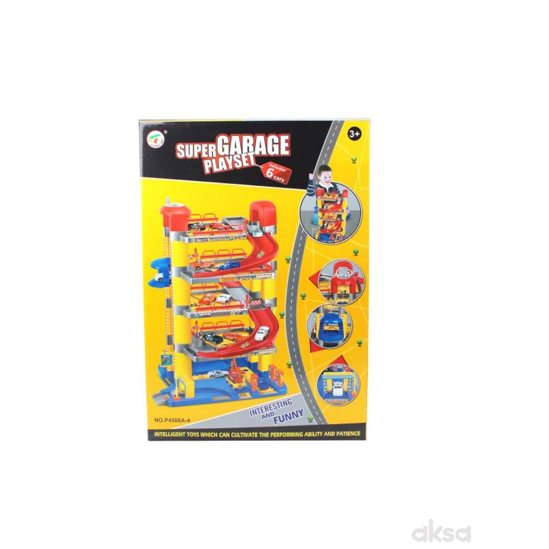 Qunsheng Toys, igračka parking garaža +