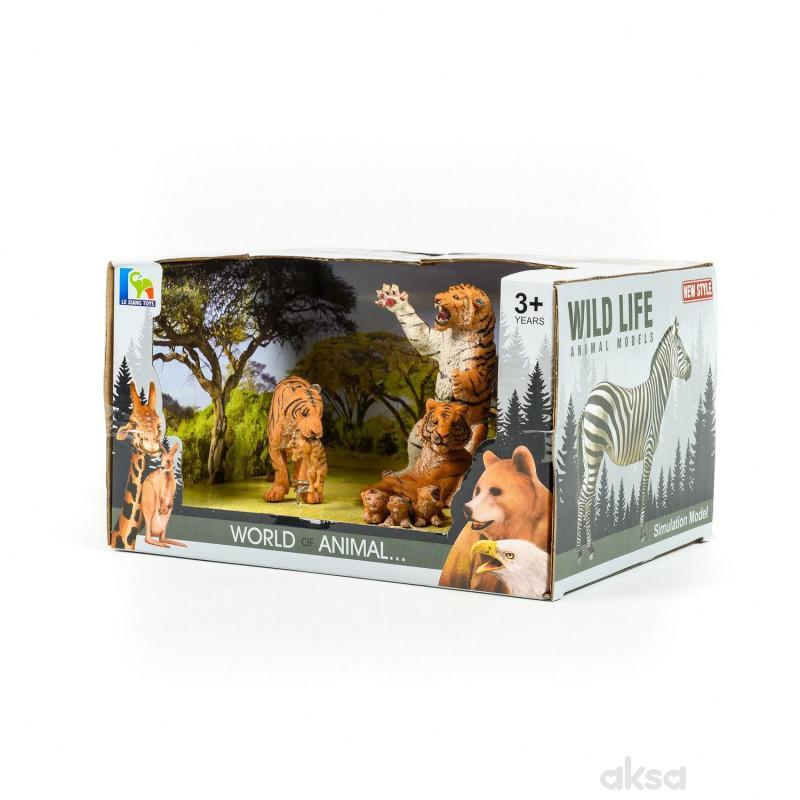 Qunsheng Toys, igračka tigar set