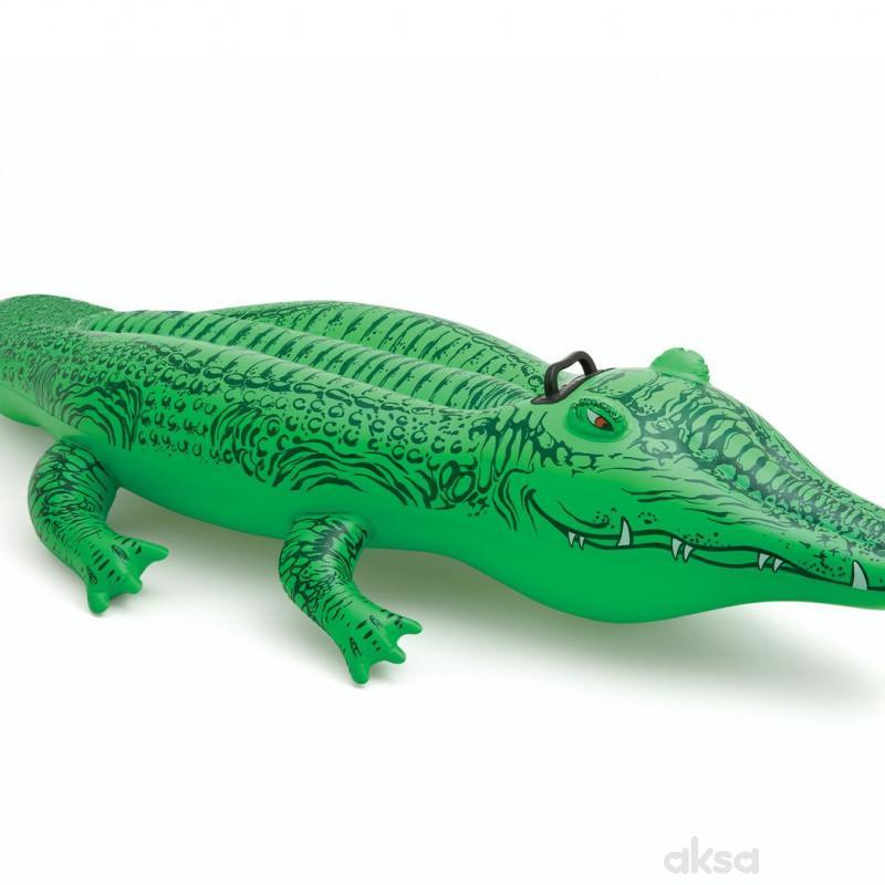 Intex dušek na napuhavanje aligator uzrast 3G+