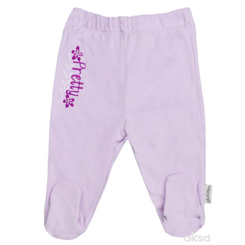 Lillo&Pippo pantalone,djevojčice,sa stopicama