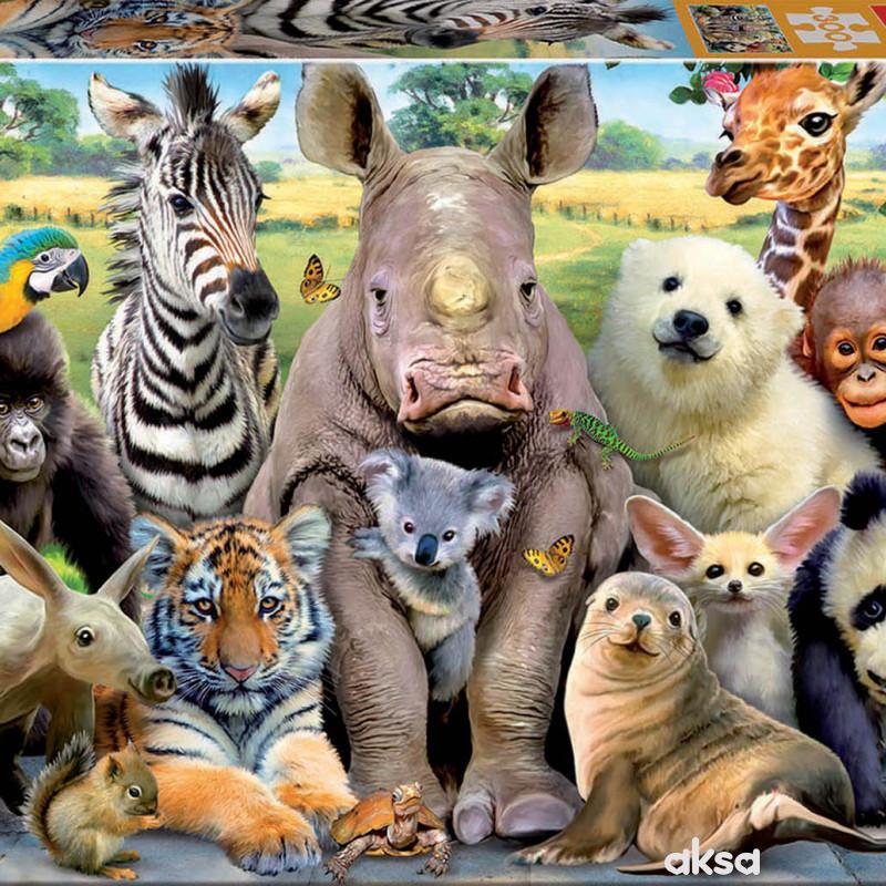 Educa slagalica životinje 300 dijelova