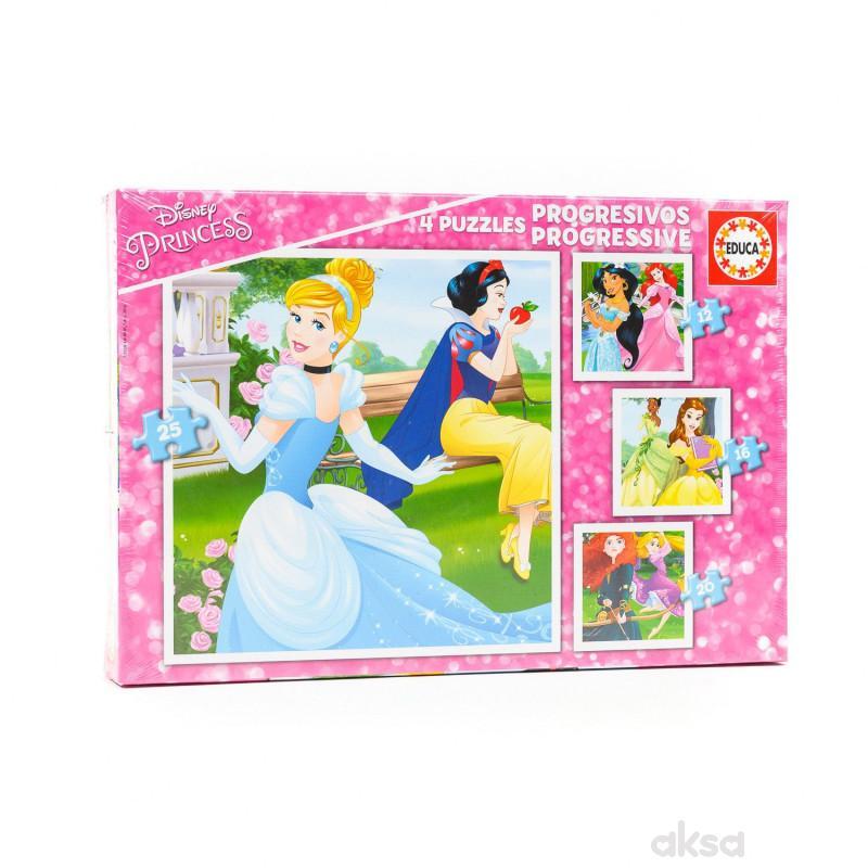 Educa slagalica 4 princeze progresivna