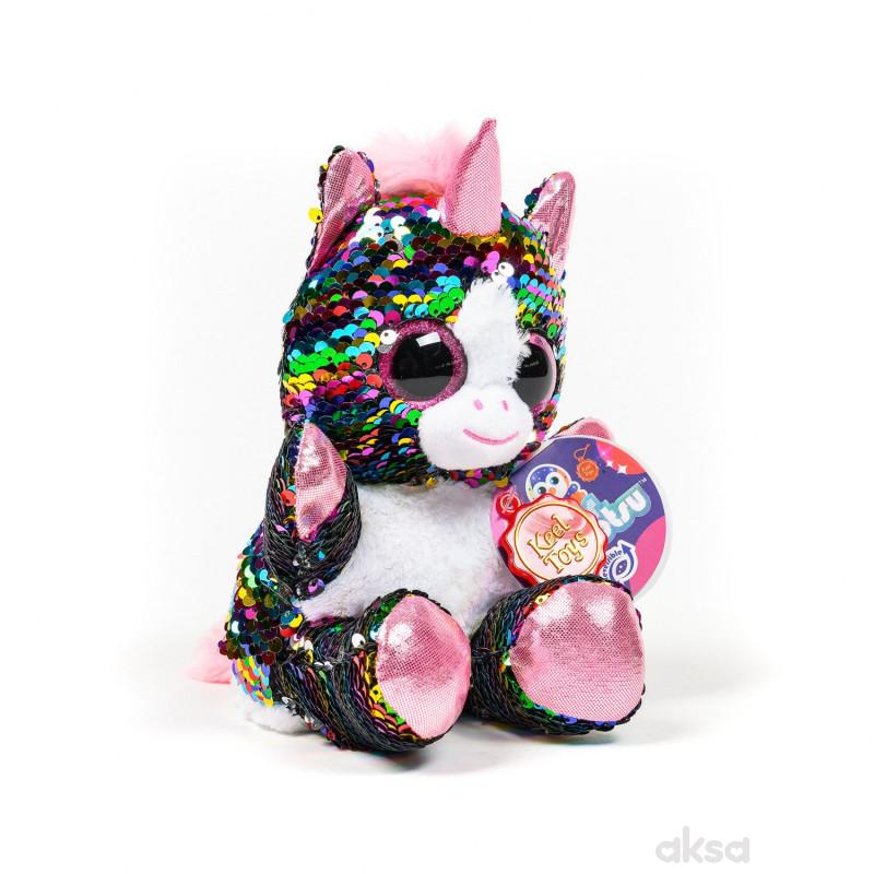 Keel Toys plišana igračka Glitter as, 20 cm