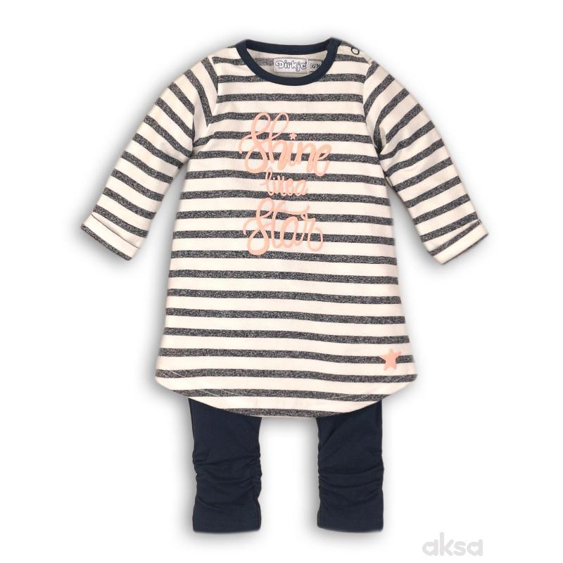 Dirkje komplet(haljina dr i helanke),devojčice-1-86 1-86