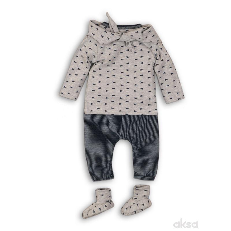 Dirkje kompl(majica dr,donji d,popke i marama),deč-56 56