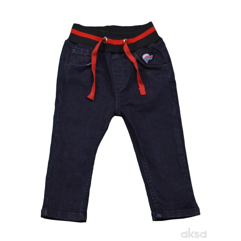 Lillo&Pippo teksas pantalone ,dječaci