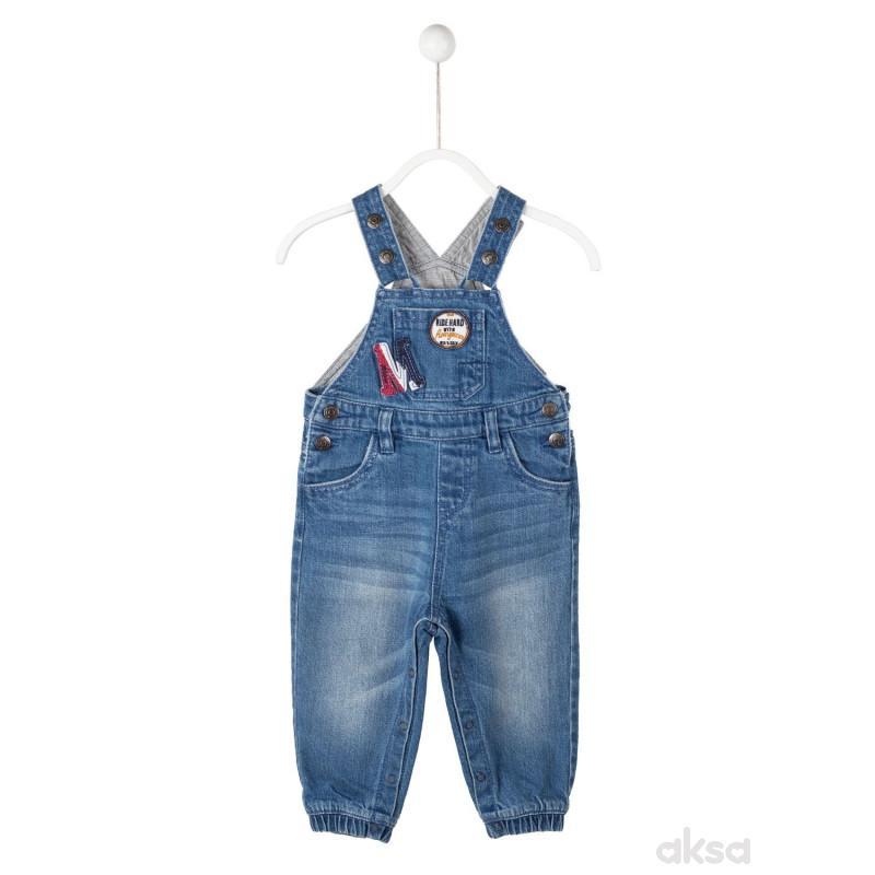 SilverSun teksas pantalone na tregere,dječaci