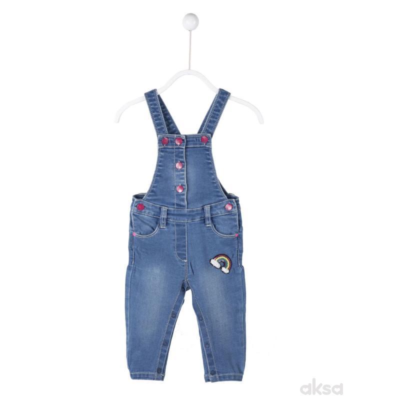 SilverSun teksas pantalone na tregere,djevojčice