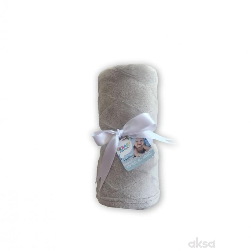 Baby Textil deka Klara,80x90,siva