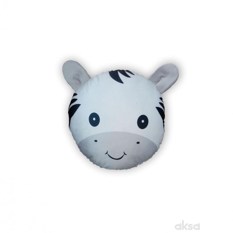 Lillo&Pippo ukrasni jastuk Animals,siva-SIVA  12-SIVA