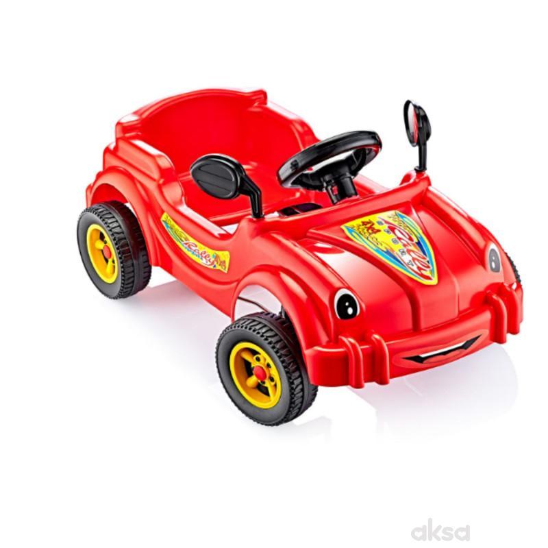 Guclu autić na pedale