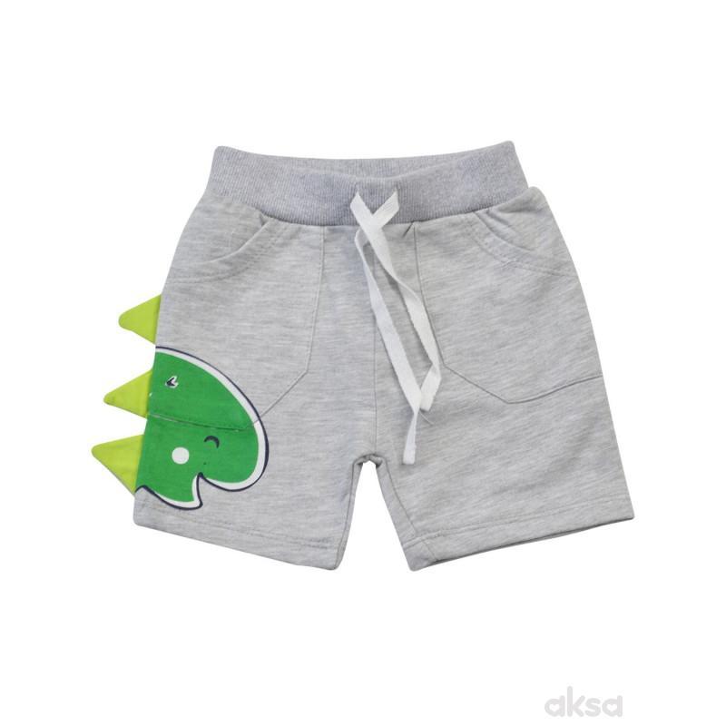 Lillo&Pippo šorts,dečaci,1-86-1-86 1-86 12-SIVA