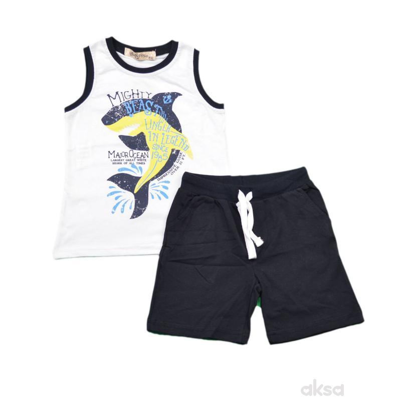 Lillo&Pippo komplet(majica i šorts),dječaci