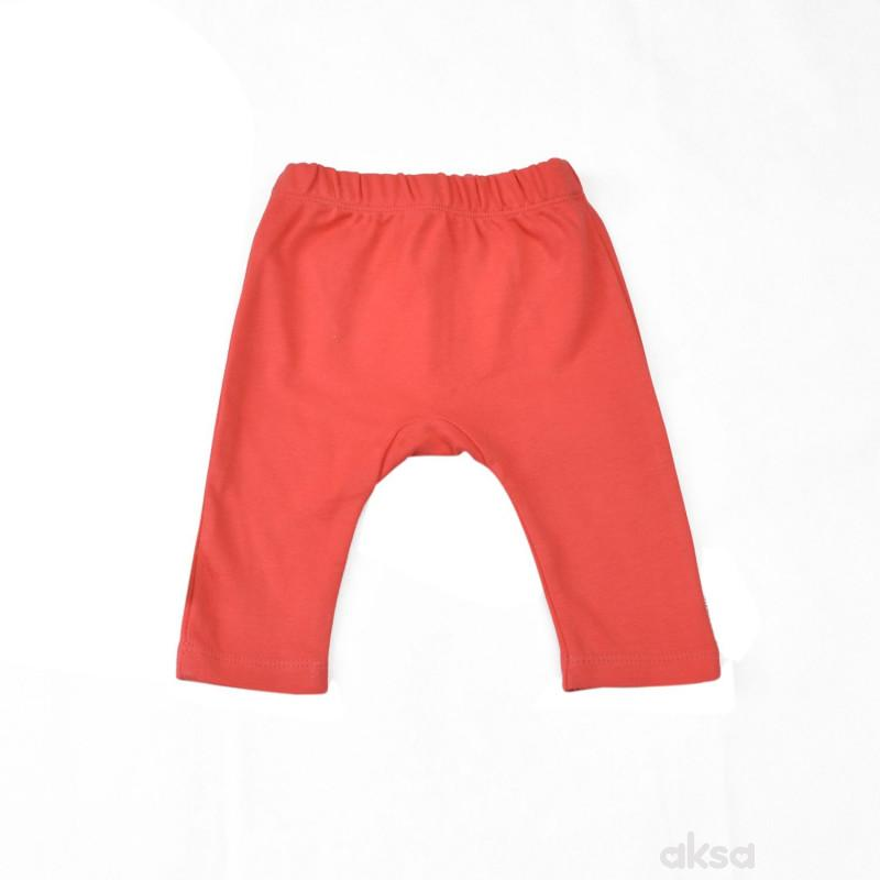 Lillo&Pippo bebi pantalone, devojčice-56 56 9-CRVENA