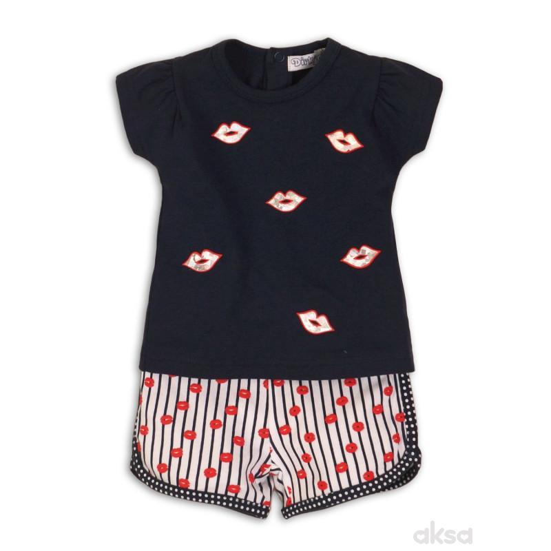 Dirkje komplet (majica kr, šorc),devojčice,1-86-1-86 1-86 14-TEGET