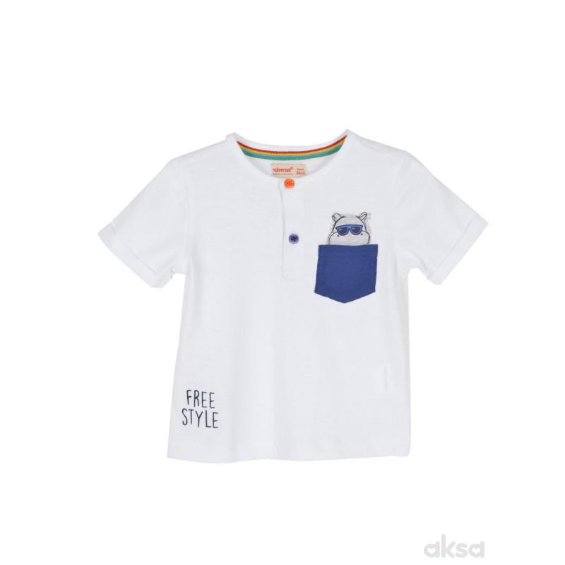 SilverSun majica,dečaci,kr,1-86-1-86  1-BELA