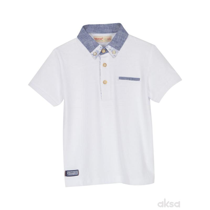 SilverSun majica,dečaci,kr,2-92-2-92  5-BEŽ