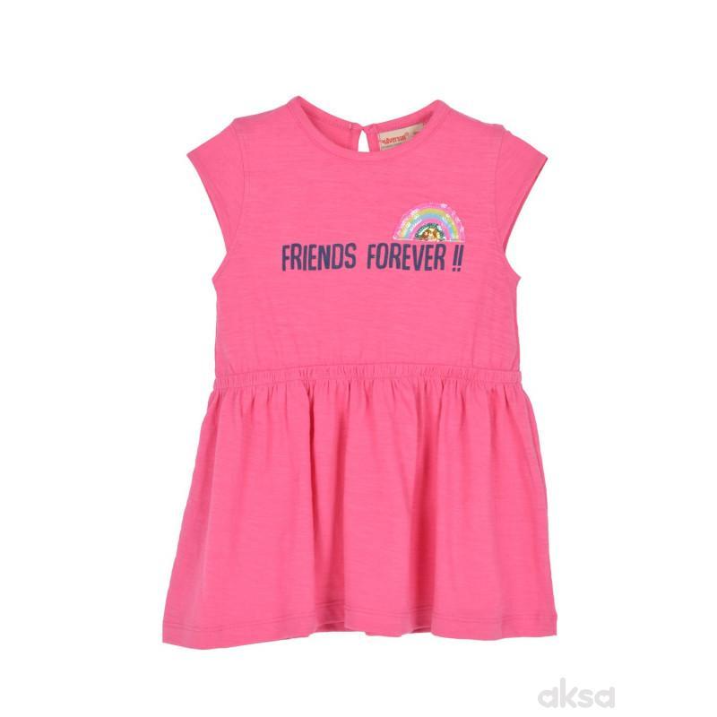 SilverSun haljina,devojčice,kr,1-86-1-86  3-ROZE