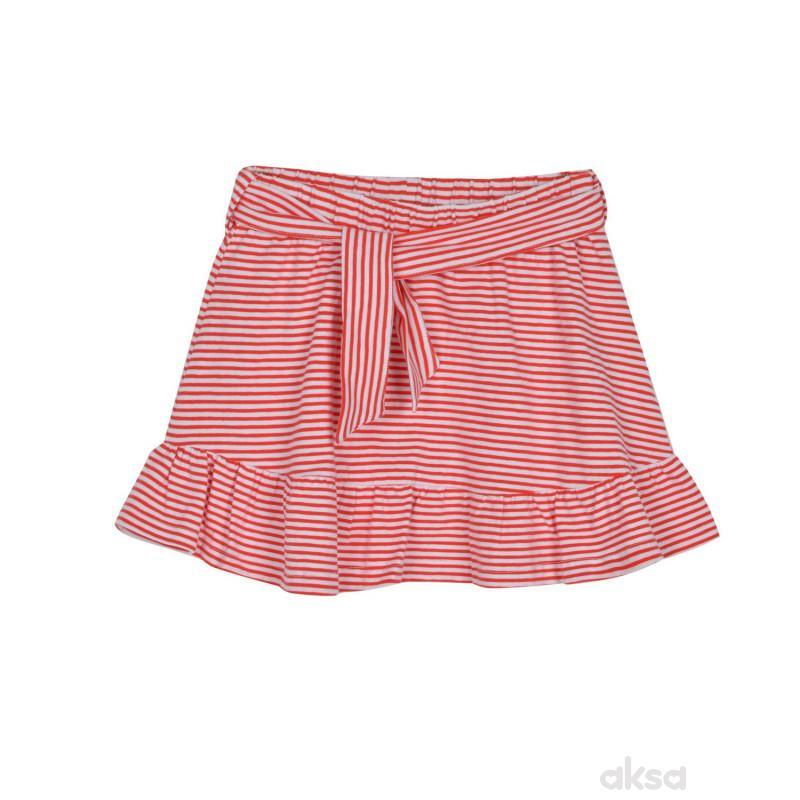 SilverSun suknja,devojčice,2-92-2-92  9-CRVENA