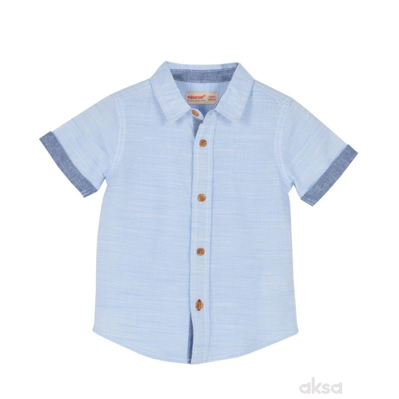 SilverSun košulja,dečaci,kr,1-86-1-86  1-BELA