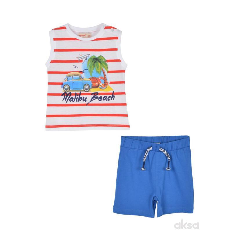 SilverSun komplet (majica,atlet i šorts),dječaci