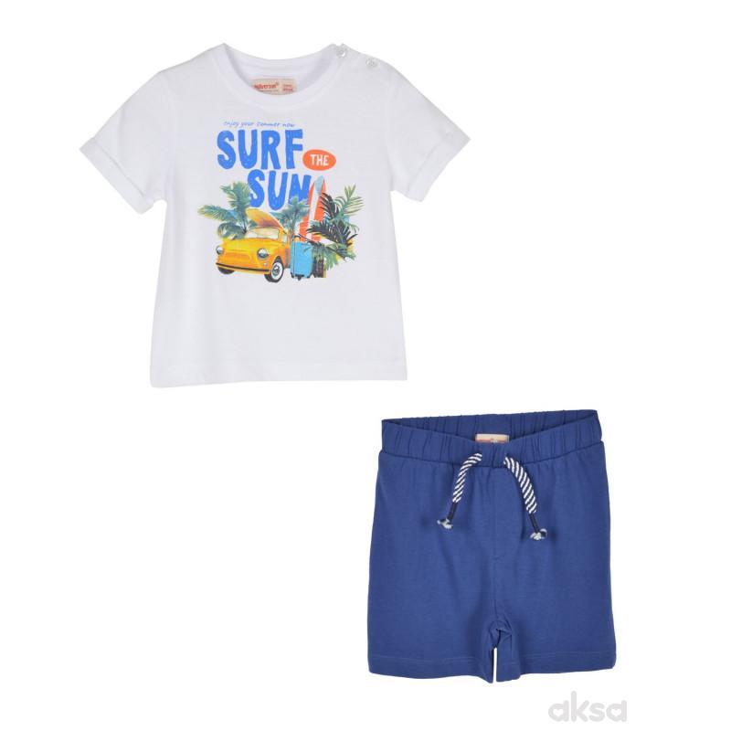 SilverSun komplet (majica,kr i šorts),dječaci