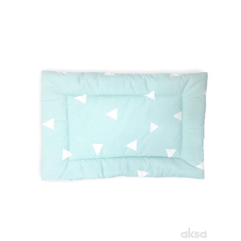 Lillo&Pippo jastuk za bebe i decu Trouglovi-MINT  7-ZELENA