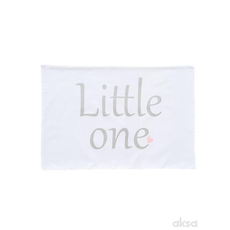 Lillo&Pippo jastučnica Little one,40X50CM-KAJSIJA  8-ORANŽ/KAJSIJA