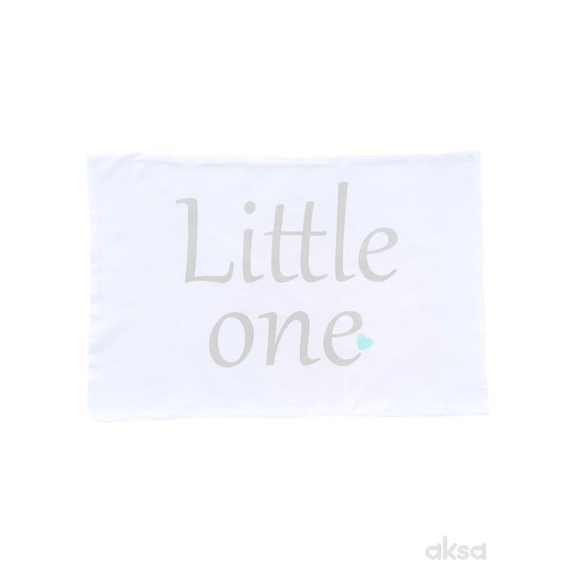 Lillo&Pippo jastučnica Little one,40X50CM-MINT  7-ZELENA