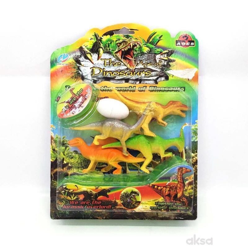 HK Mini igračka dinosaurus set 1