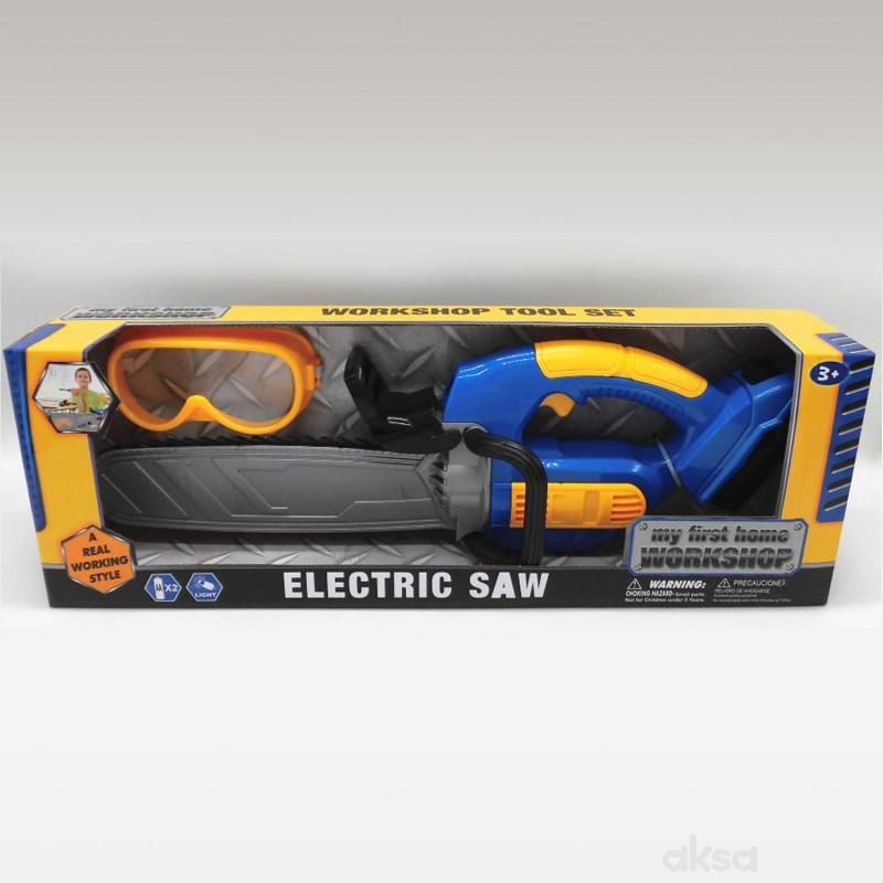HK Mini igračka set alat sa testerom i naočalima