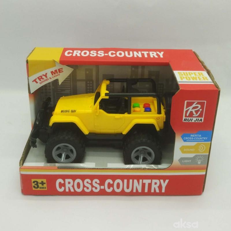 HK Mini igračka džip sa zvukom i svjetlima manji