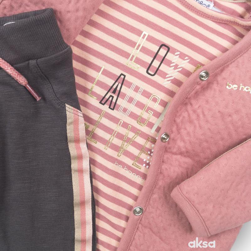 Dirkje komplet 3/1 (majica,duks, d.dio), djevojčice