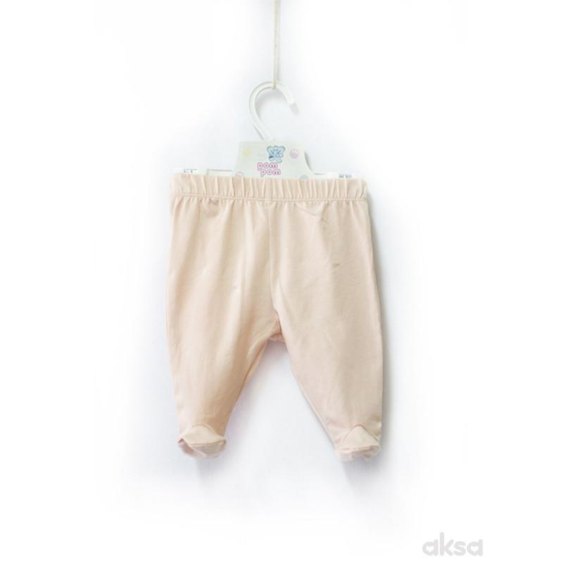 Pom Pom pantalone,sa stopicama,djevojčice