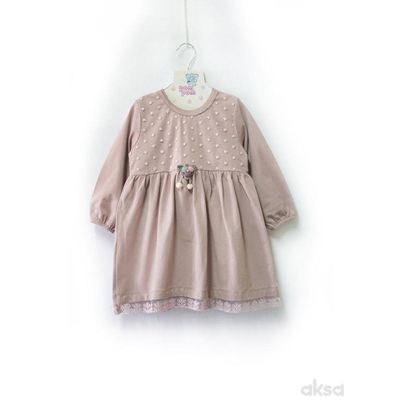 Pom Pom haljina,dr,devojčice-1-86 1-86