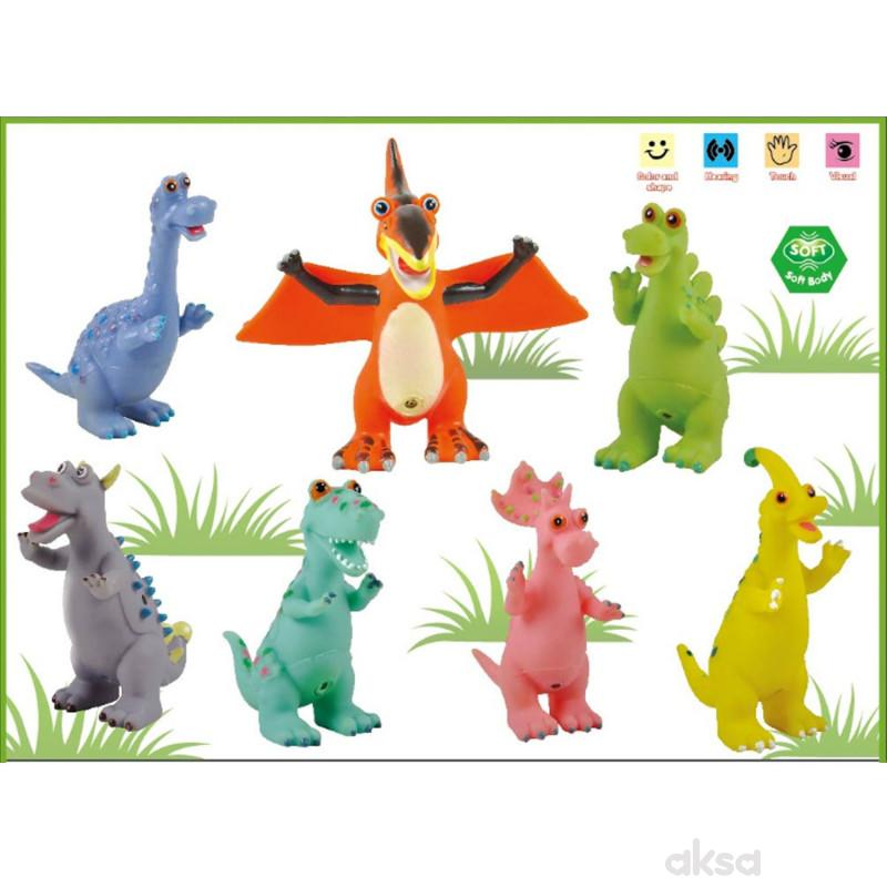 HK Mini igračka dinosaurus, displej 7 komada