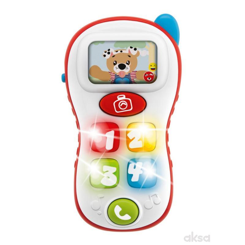 Chicco igračka selfie telefon