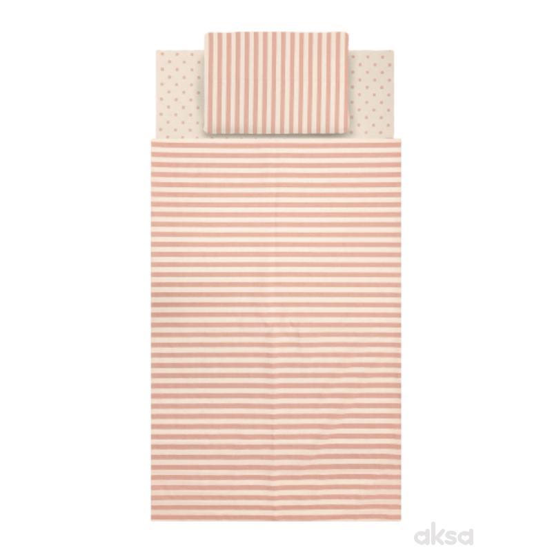 Baby Textil posteljina Piccolino 3/1-ROZE  3-ROZE